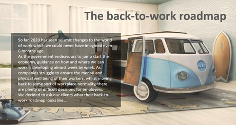 THE NEW NORMAL-Back to Work Road Map